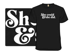 She Could and She Did