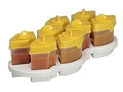 Baby Brezza Octo Food Storage System- Yellow