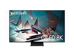 "Samsung 65"" Class Q800T QLED 8K UHD HDR Smart TV"