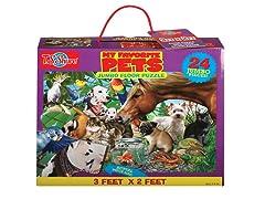 My Favorite Pets Jumbo Floor Puzzle