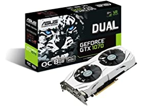 ASUS Dual GeForce GTX 1070 8GB OC