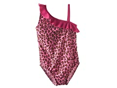 Pink Leopard One-Piece Swimsuit