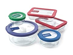 Pyrex No Leak Lids™ 10pc Set