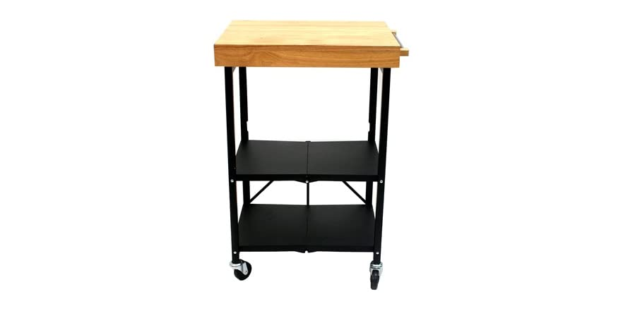 Origami Foldable Kitchen Island Cart (2 Colors