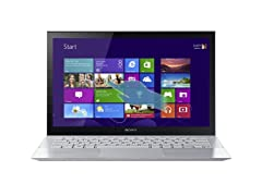 "Sony VAIO Pro 13.3"" Intel i7 Laptop - Silver"