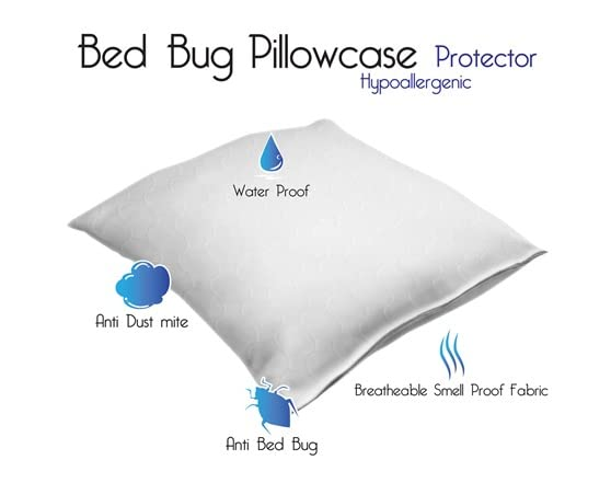Body Pillow Bed Bug Protector