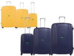 Streamline 3-Pc Luggage Set - 8 Colors