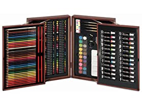 Art 101 192 pc Deluxe Wood Set