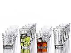 Allure 16 Piece Glassware Set