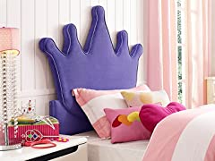 Powell Princess Crown Twin Headboard