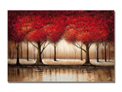 Rio Parade of Red Trees