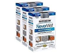 Rust-Oleum Never Wet Multi-purpose Kit, 3-pk