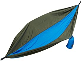 Equipped Outdoors Two-Person Parachute Camping Hammock