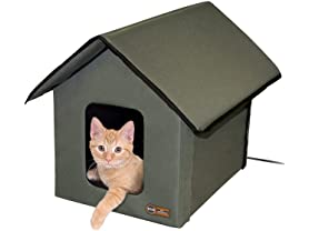 K&H Pet Products Outdoor Kitty House (Heated)