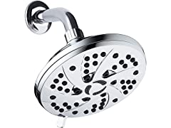 """Aquadance High Pressure 6"""" Rain Shower Head"""