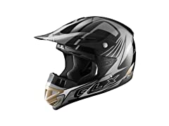Youth Off-Road Helmet, Black