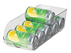 Oggi Refrigerator Stackable Storage - 9 Cans