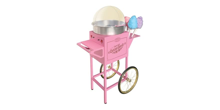 nostalgia cotton candy maker instructions