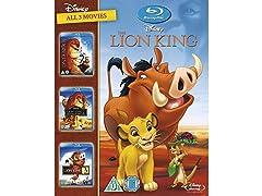 The Lion King Trilogy 1-3 Blu Ray