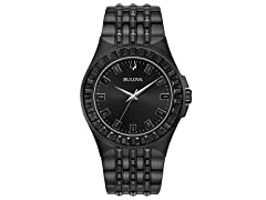 Bulova Black Dress Watch