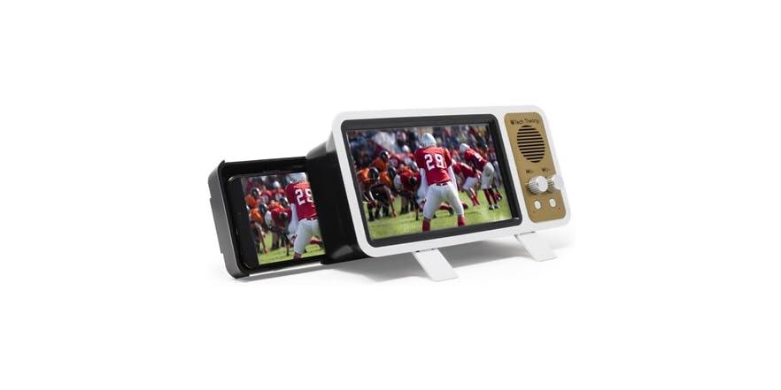 Aduro Smartphone Screen Magnifier + Speaker