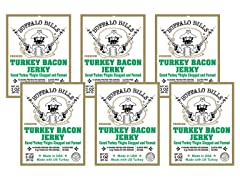 Buffalo Bill's Turkey Bacon Jerky (6)