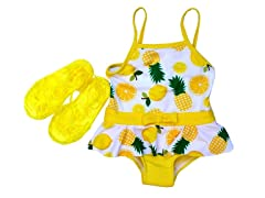 Pineapple Swimsuit Set (12M-4T)