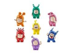 ODDBODS Toy Set Mini Figurines Kids