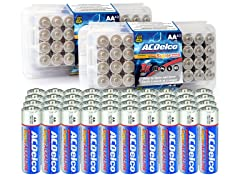 ACDelco AA 80pk Alkaline, 10 Years Shelf Life