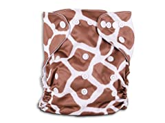 Giraffe Cloth Diaper
