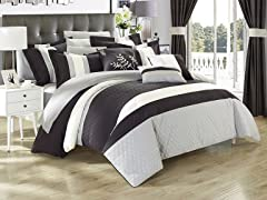 Chic Home Convington 24-Piece Comforter Set