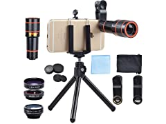 Apexel 4 in 1 Smartphone Camera System