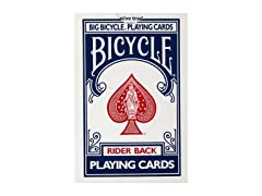 Bicycle Jumbo Playing Cards from Loftus