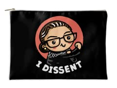 """""""Girl Power-I Dissent"""" Accessory Pouch"""