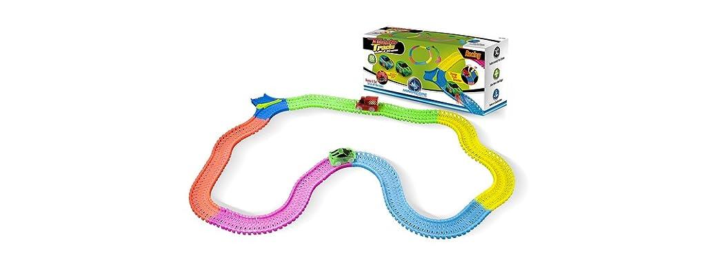 Mindscope Twister Track Glow-in-the-Dark 255pc Set