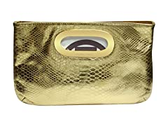 Michael Kors Berkley Clutch, Gold