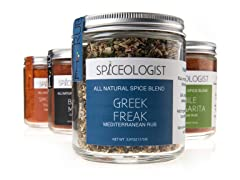 Spiceologist Rub Blend 4-Pack Gift Set