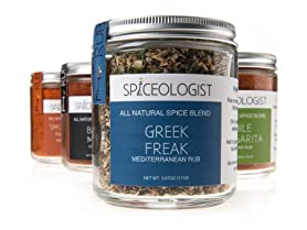Spiceologist 4-Pack Gift Set