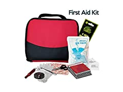 Travel First-Aid Kit, 120-piece