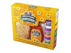 Nostalgia Kettle & Hot Air Popcorn Kit