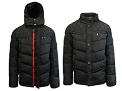 Mens Heavy Weight Quilted Jacket