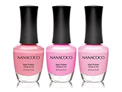 Three-Piece Nail Polish Set