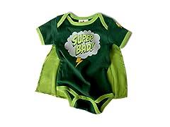 "Wrybaby ""SuperBad"" Green Bodysuit"