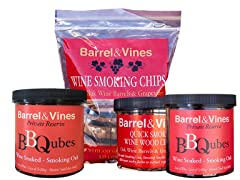 Barrel & Vines Smoking Chips Sampler (4)