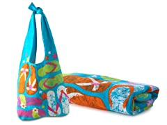 30x60 Junior Flip Flop Towel Set