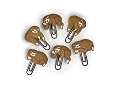 Sloths on a Vine Picture Hangers, Set of 6