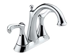 Two Handle Faucet, Chrome