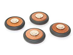 Magnetic Wooden Wheels