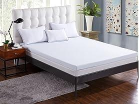 "Comfort & Relax 3"" Gel Memory Foam Topper"