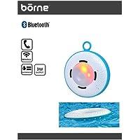 Borne Waterproof Floating Speaker Pool Speaker with LED Lights